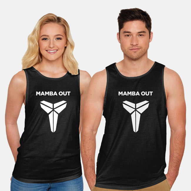 Mamba Out-unisex basic tank-Rivaltees