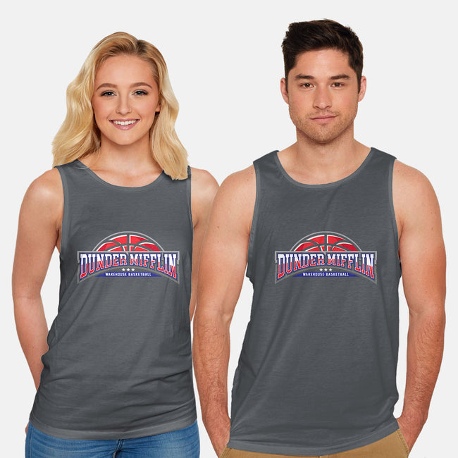 Warehouse Basketball-unisex basic tank-zerobriant