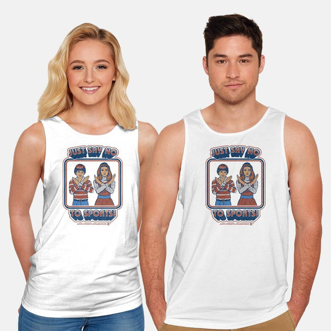 Sports Awareness-unisex basic tank-Steven Rhodes
