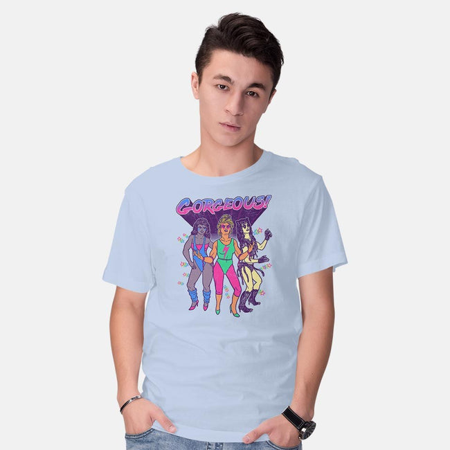 Gorgeous!-mens basic tee-wytrab8