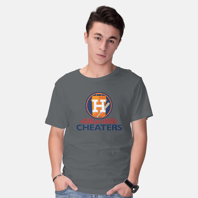 World Series Cheaters-mens basic tee-TrentWorden