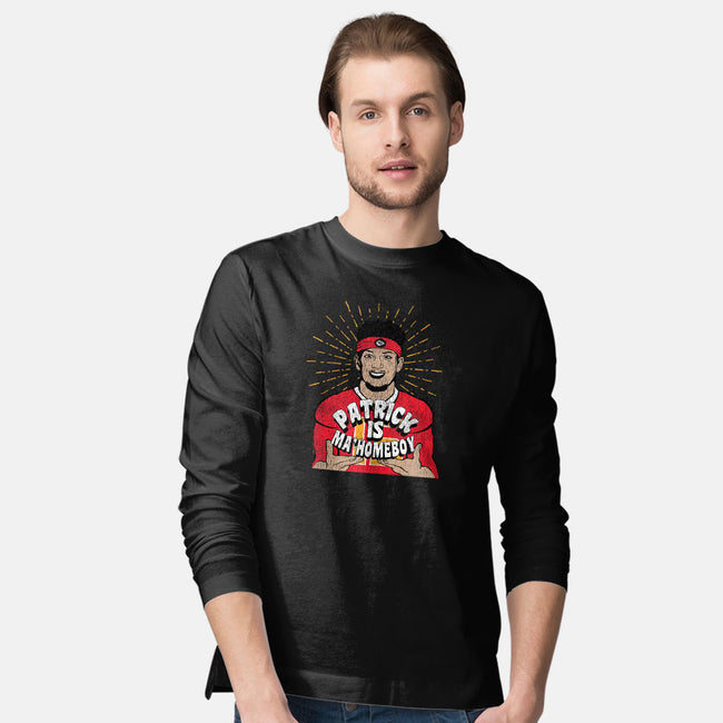 Ma Homeboy-mens long sleeved tee-Cory Lorton