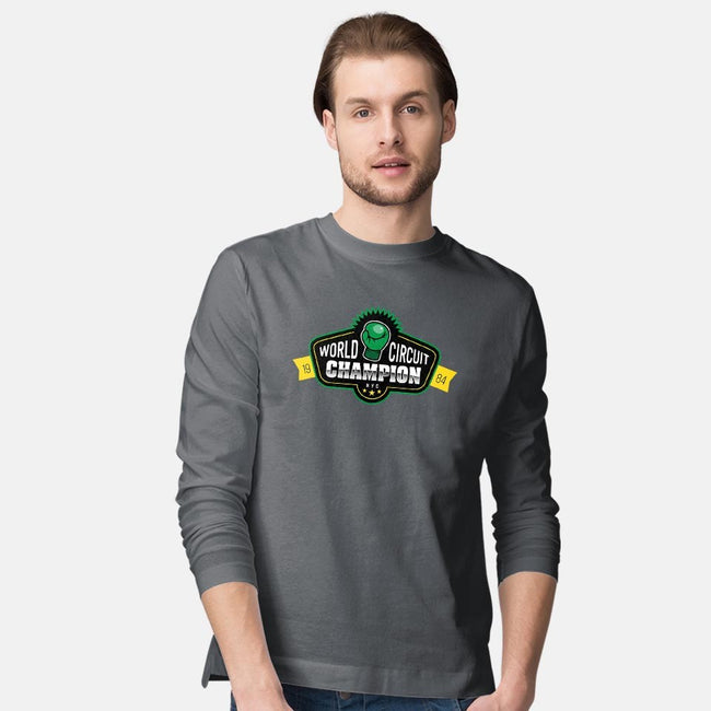 Little Boxing Champ-mens long sleeved tee-aflagg