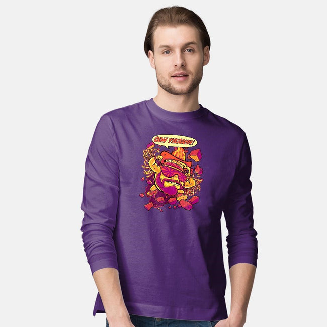 Macho-Kool-mens long sleeved tee-BeastPop