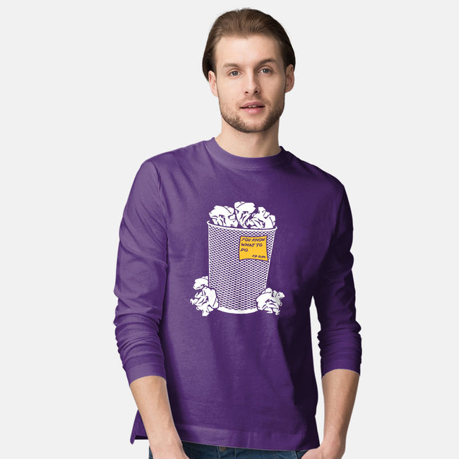Trash Can Tradition-mens long sleeved tee-christopher perkins