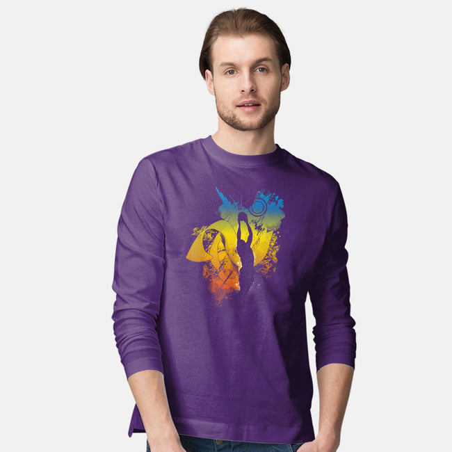 Reach The Stars-mens long sleeved tee-Frederic Levy-Hadida