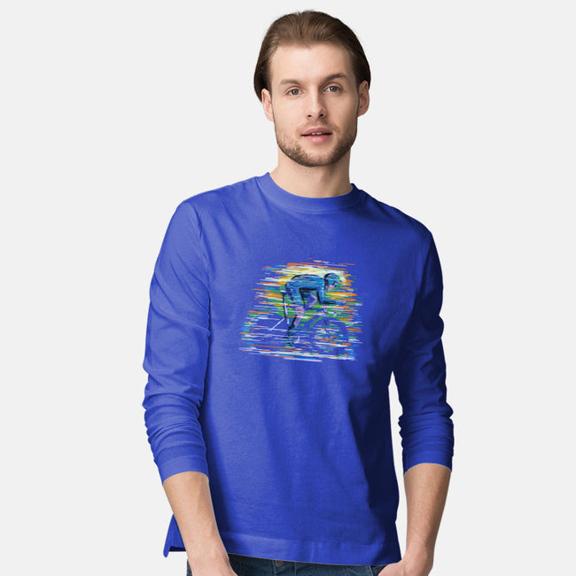 Pedal For The Win-mens long sleeved tee-Frederic Levy-Hadida