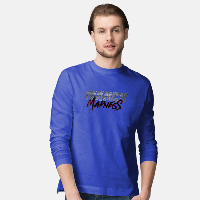 March Madness Live!-mens long sleeved tee-RivalTees