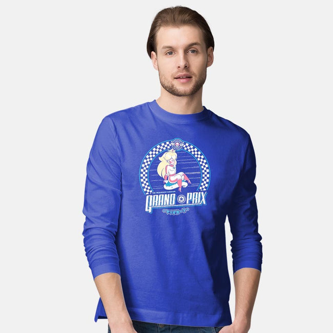 Mushroom Kingdom Grand Prix-mens long sleeved tee-owlhaus