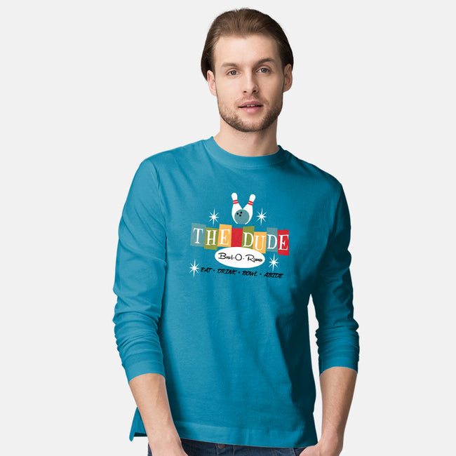 The Dude-mens long sleeved tee-joefixit2