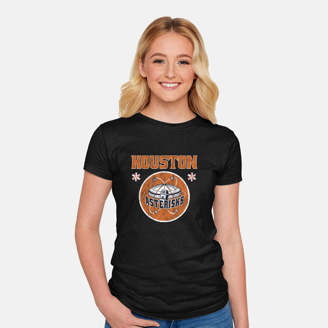 Asterisks-womens fitted tee-Cory Lorton