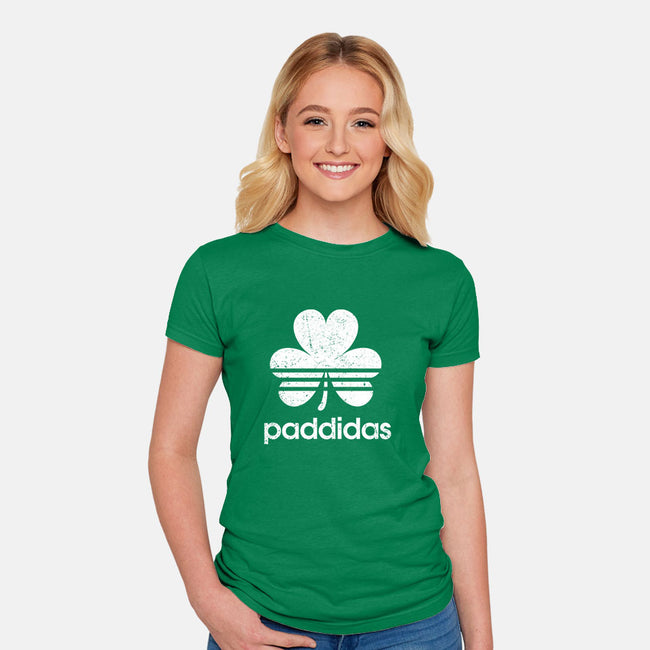 Paddidas-womens fitted tee-powerfuldesigns