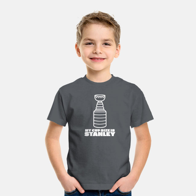 My Cup Size is Stanley-youth basic tee-RivalTees