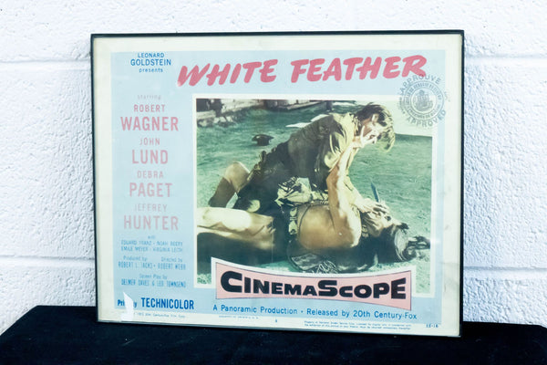 "Framed ""White Feather"" Poster"