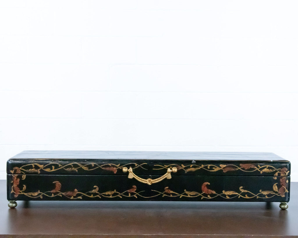 Painted Decorative Wood Box