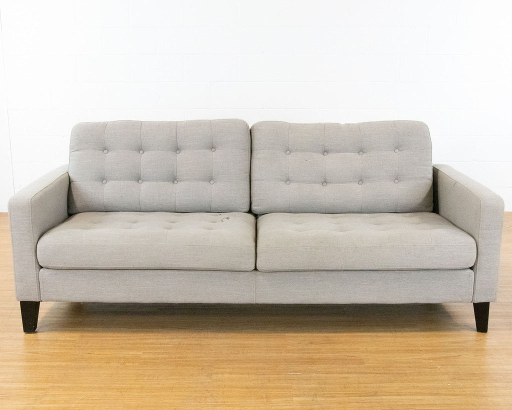 Light Gray Upholstered Sofa