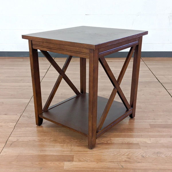 Magnussen Furniture Wooden End Table