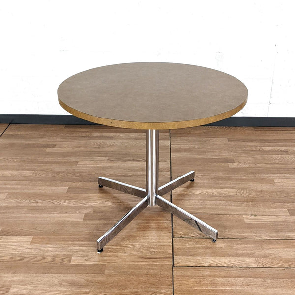 Steelcase Pedestal Table