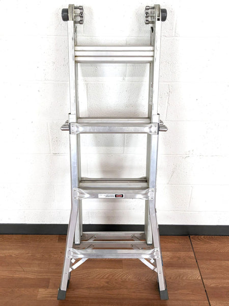 Keller 13-Foot Adjustable Aluminum Ladder