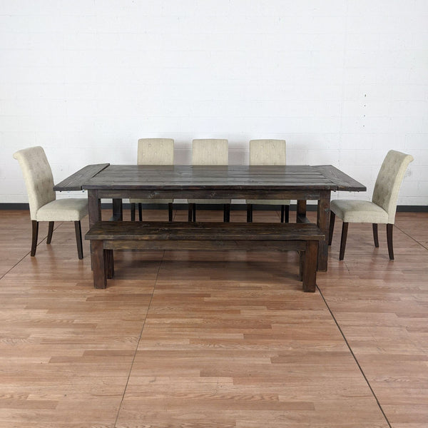 Seven-Piece Dining Set