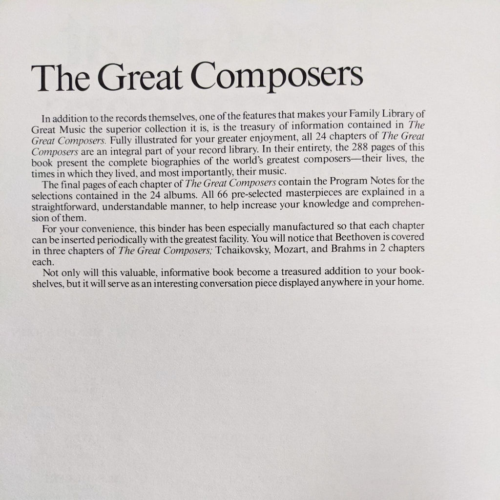 Funk & Wagnalls The Great Composers