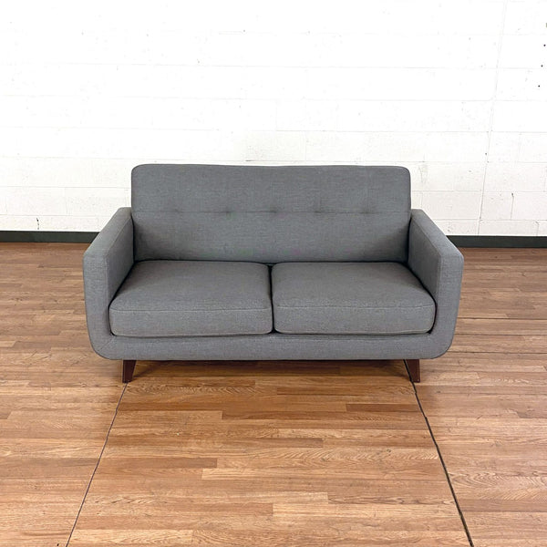 Allie Dark Gray Loveseat