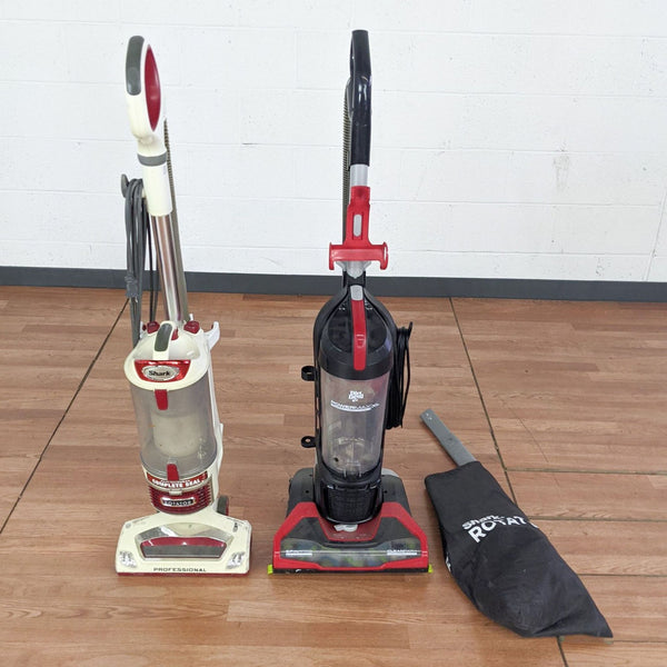 Shark Dirt Devil UD70183 Power Max XL and Shark NV500W 31 Rotator Upright Vacuum Cleaners