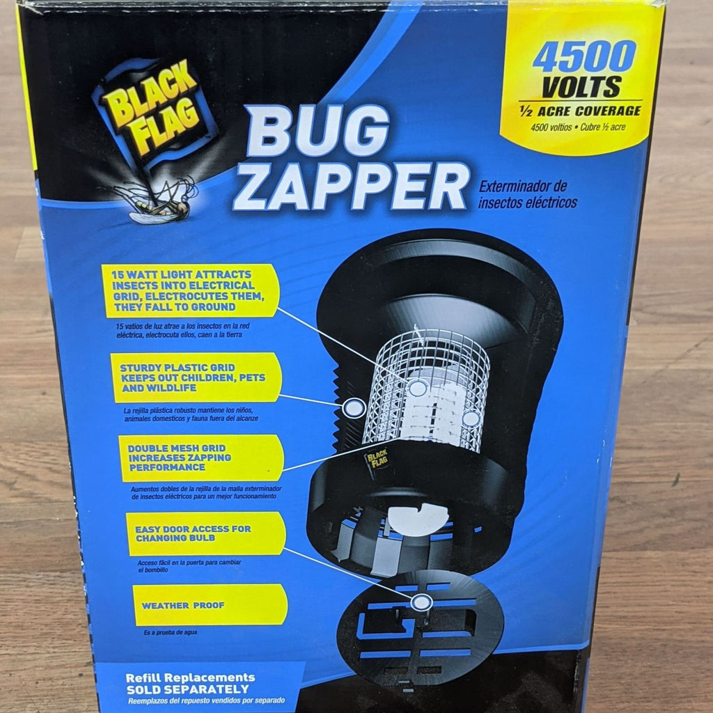 Black Flag Bug Zapper
