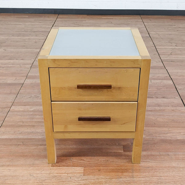 Copeland Furniture Two Drawer Nightstand