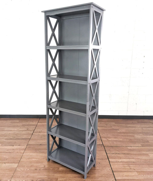 August Grove Rhymer X-Frame Standard Bookcase