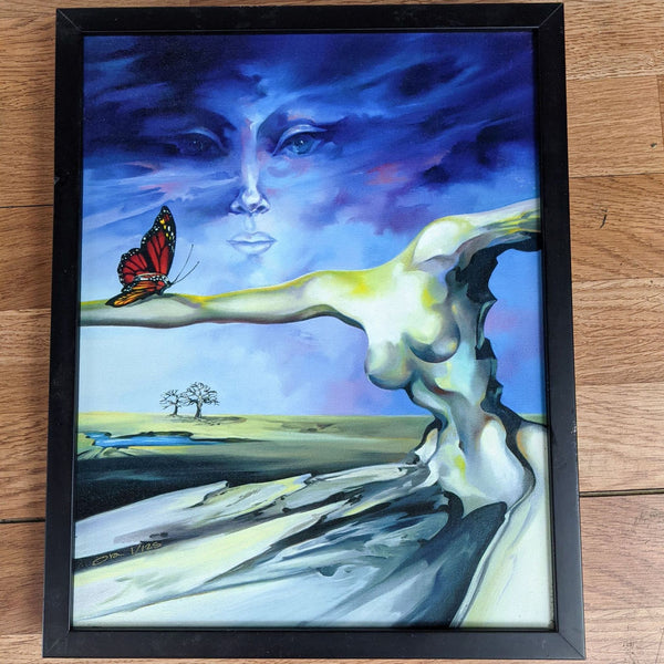 """The Butterfly"" Giclee Print by Ora Tamir"