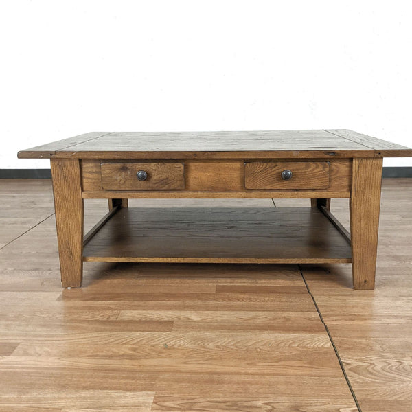Attic Heirlooms by Broyhill Wooden Coffee Table
