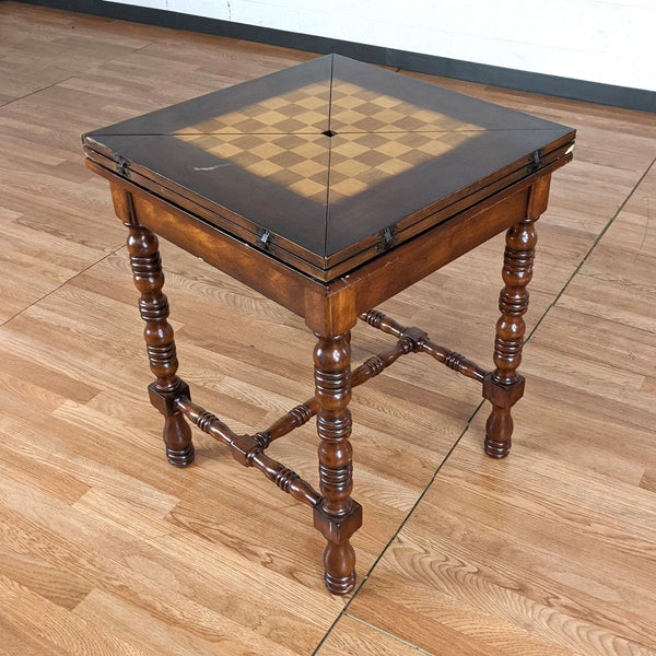 Vintage Wooden Gaming Table