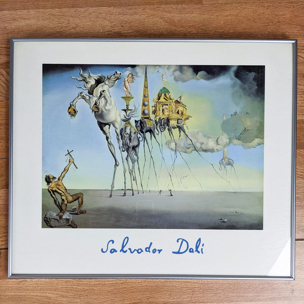 "Print of ""The Temptation of St. Anthony"" by Salvador Dali"