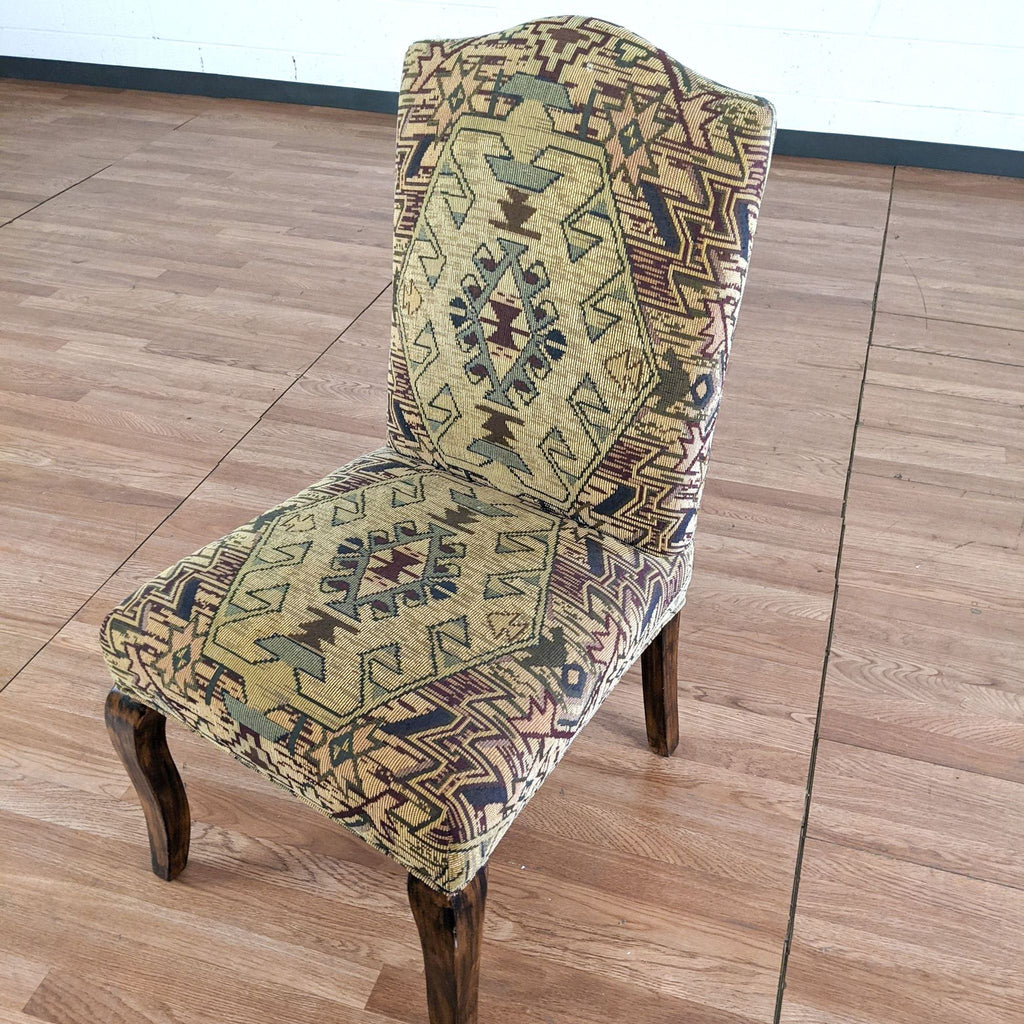 Southwest Style Upholstered Dining Chair