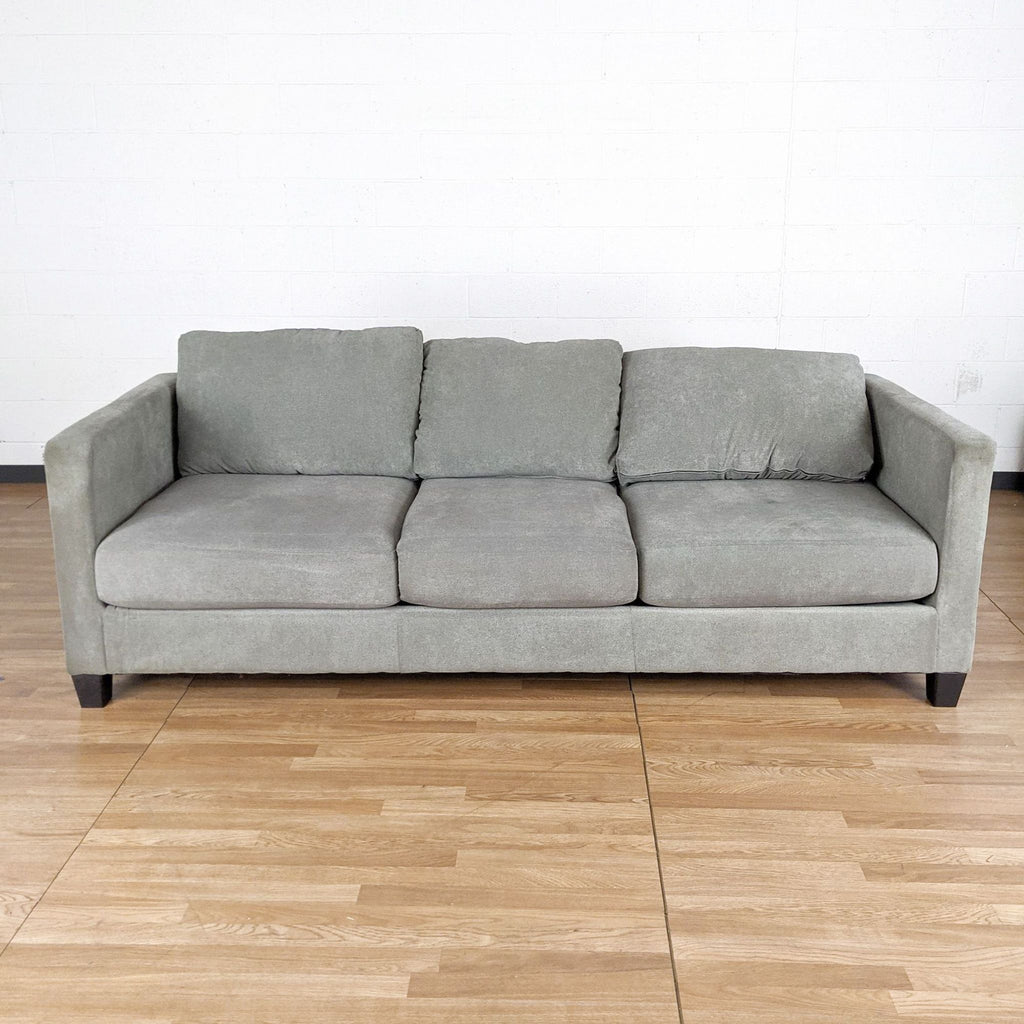 Ashley Furniture Gray Upholstered Sofa