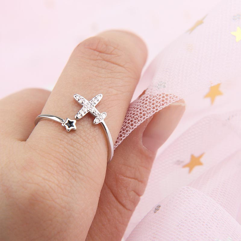 Bague Avion Brillants