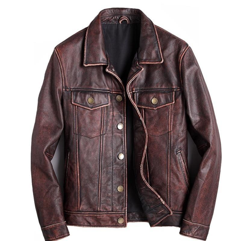Blouson Aviateur Marron <br> Jack Reacher