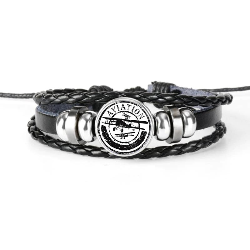 Bracelet Avion Aviation