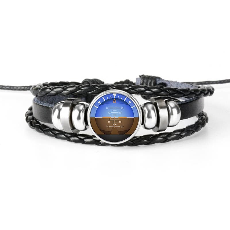 Bracelet Avion Horizon Artificiel