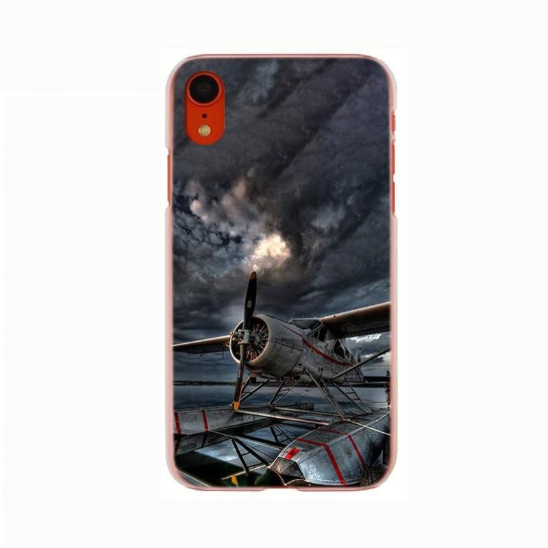 Coque Avion IPhone Orage