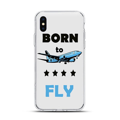 Coque Avion Iphone Dessins Divers Borne to Fly 1