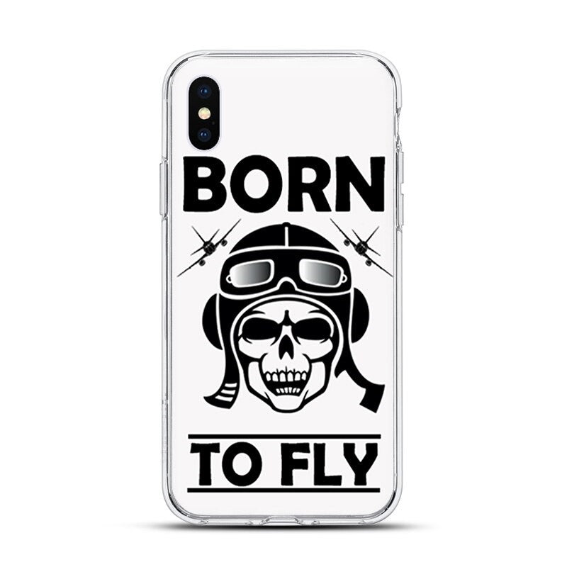 Coque Avion Iphone Dessins Divers Borne To Fly 2