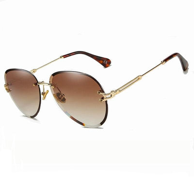 Lunettes Aviatrice Marrons