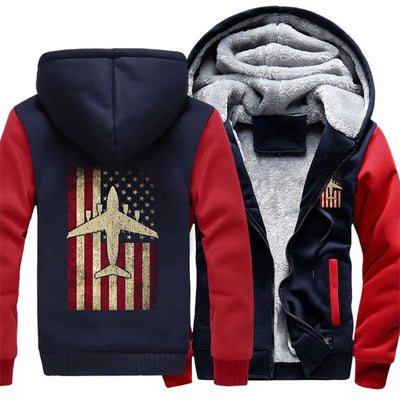 Pull Avion American Airline Bleu