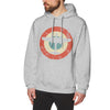 Pull Avion Cocarde Tricolore Gris