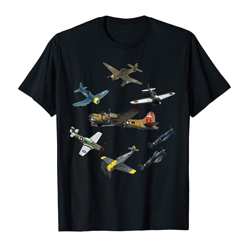 T-shirt Aviateur <br> Seconde Guerre Mondiale