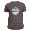 T-shirt Aviateur Spitfire Marron