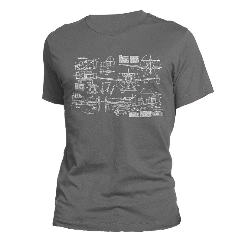 T-shirt Avion <br> BF-109 Messerschmitt