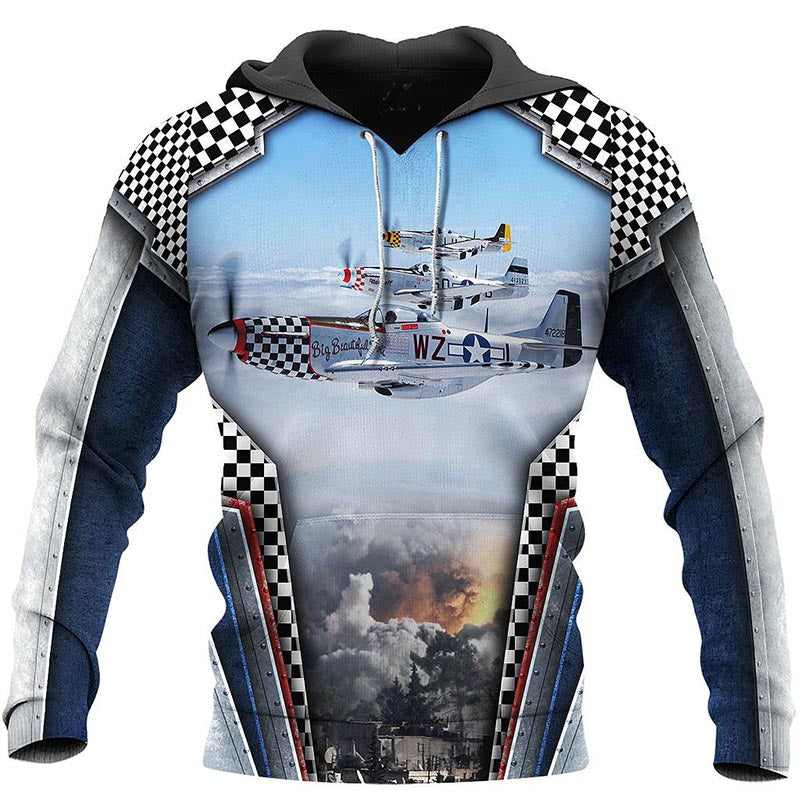 Pull Avion <br> Trio de Mustangs P-51